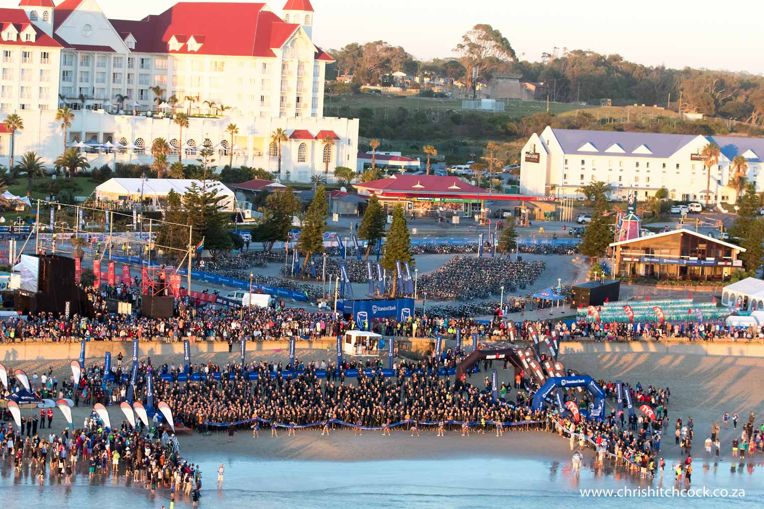 For me, as the event photographer, it is a 9 hour drive to the race from my home base in Cape Town. Always in the back of my mind, is the knowledge that when I get to Port Elizabeth I will be greeted by pristine beaches, a clean city, and thousands of welcoming locals. This photo is everything in one.