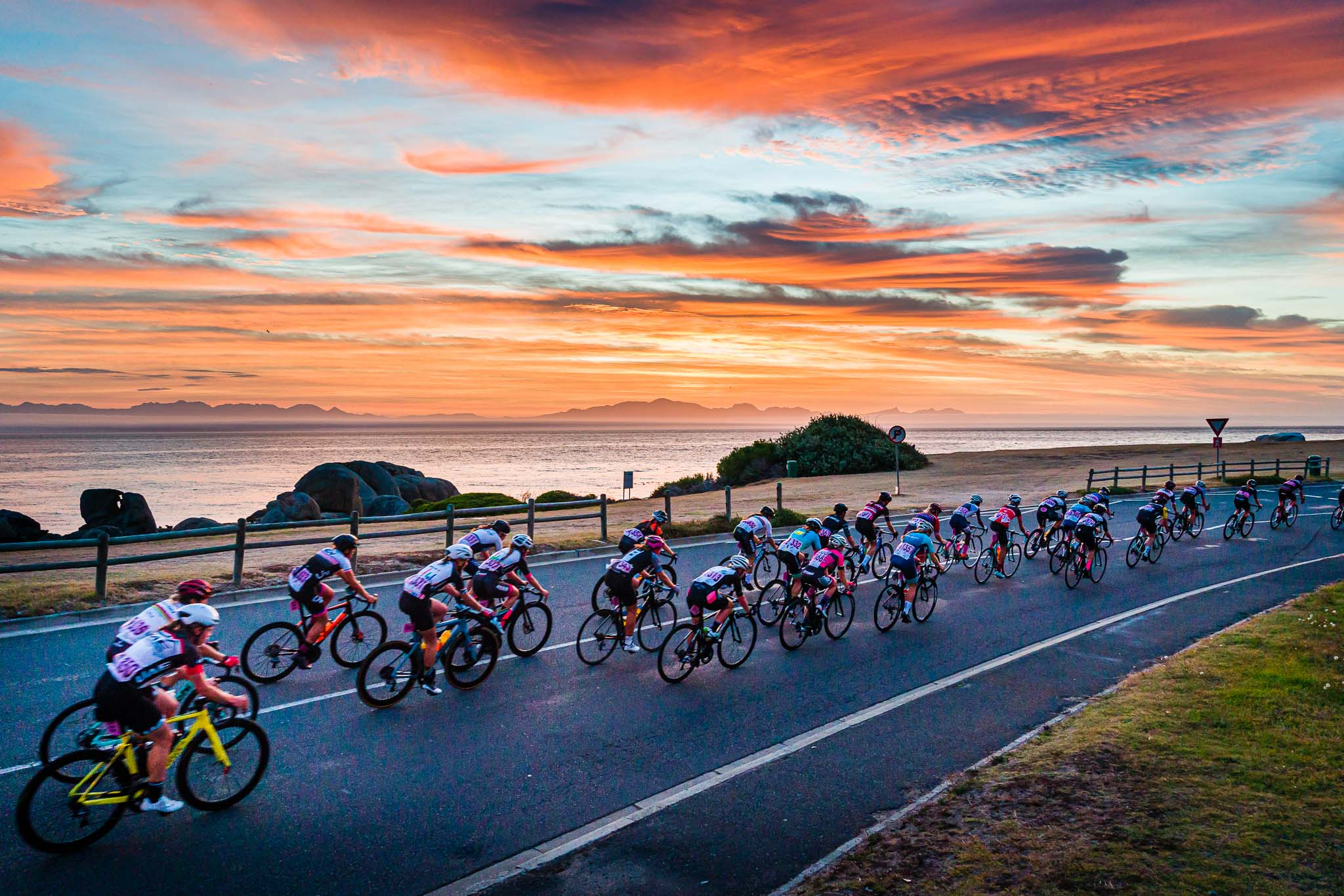 Cape Town Cycle Tour 2020. Argus.