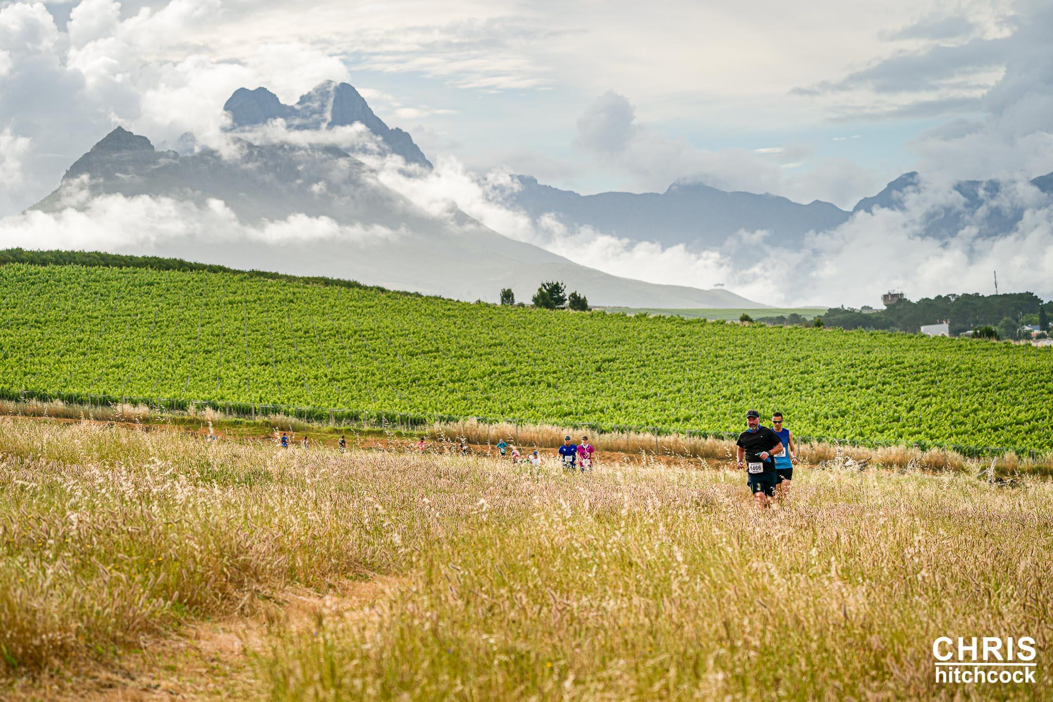 Blooming Trail Run At Beautiful L'Avenir Wine Estate Nov 2020